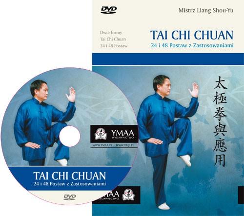 Tai Chi Chuan 24 i 48 Postaw - książka+DVD